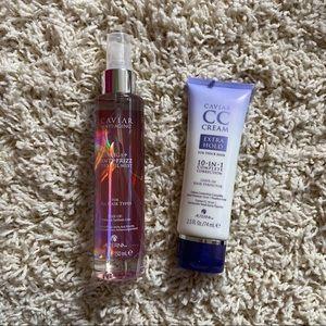 Alternate Hair care bundle CC cream and anti frizz